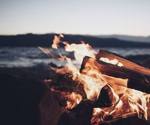 fire and summer image
