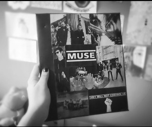 band, folder, and muse image