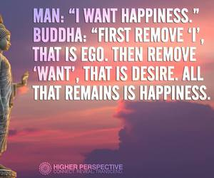 Buddha, happiness, and life image