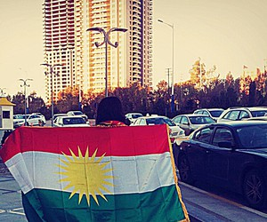 kurd, kurdish flag, and kurdish image