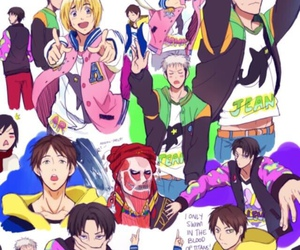 anime, free!, and shingeki no kyojin image