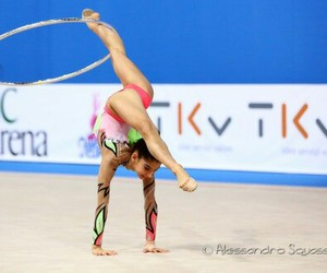 flexibility, handstand, and hoop image