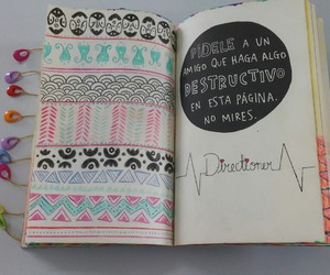 wreck this journal, destroza este diario, and directioner image