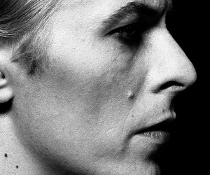 1976, black and white, and david bowie image