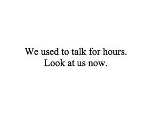 quote, sad, and talk image