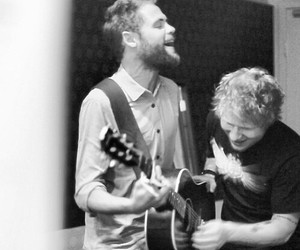 passenger, ed sheeran, and guitar image