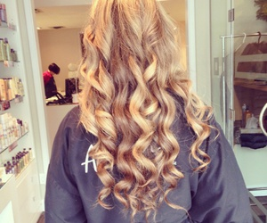 hair, curls, and luxury image