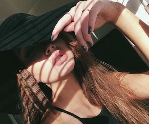 beauty, lips, and cute image