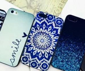 blue, case, and phone image