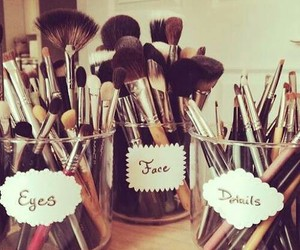 Brushes, diy, and inspiration image