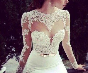 design, lace, and bow belt image