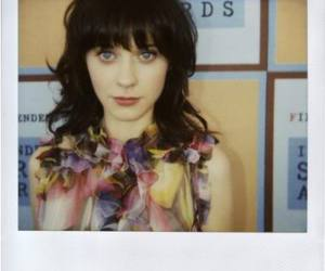 zooey deschanel, polaroid, and zooey image