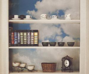 sky, vintage, and tumblr image