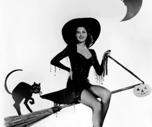Halloween, witch, and ava gardner image