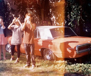 car, friends, and vintage image