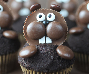 chocolate, cupcake, and cute image