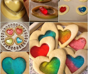Cookies and hearts image