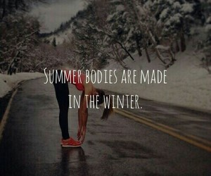 summer, winter, and body image