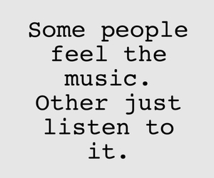 music, listen, and feel image