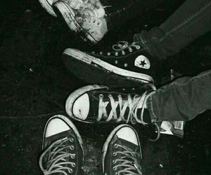 ankles, feet, and converse shoes image