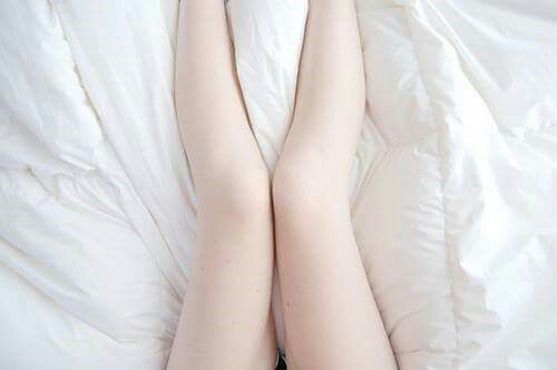 legs, pale, and white image