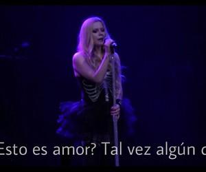 Avril Lavigne, Lyrics, and frases en español image
