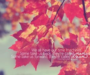 Dream, memories, and autumn image
