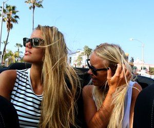 friends, blonde, and girl image