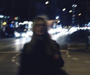 grunge, girl, and city image