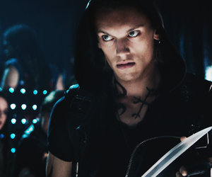 city of bones, jace, and Jamie Campbell Bower image