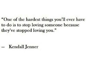 quotes, kendall jenner, and hard image