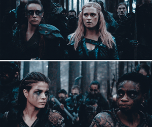 clarke, indra, and lexa image
