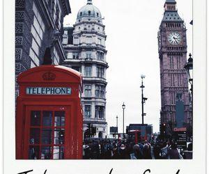 london, Big Ben, and telephone image