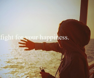 girl, quote, and happiness image