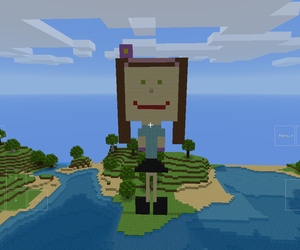 mincraft, little cutie, and iz the image