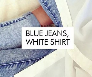 blue jeans, jeans, and white image