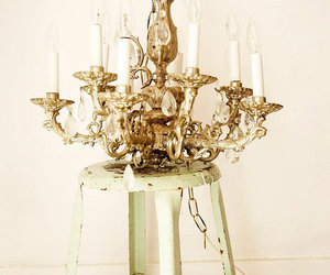 chandelier and home image