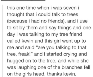 tree, tumblr, and funny image