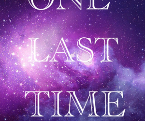 last, one, and time image