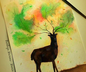 art, tree, and awesome image