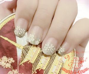 make up, nail art, and nail polish image