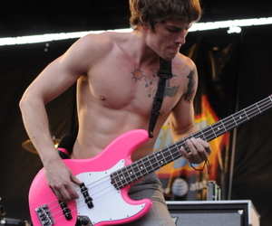 all time low, zack merrick, and bass image