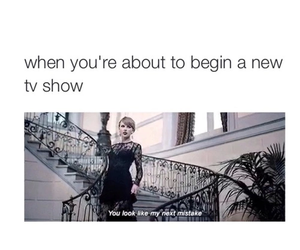 Taylor Swift, tv show, and blank space image