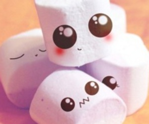 eat, food, and marshmallow image