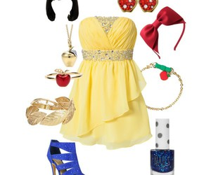 disney princess, fashion, and snow white image