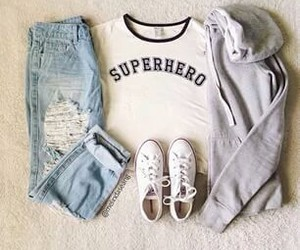 blusa, outfit, and casual image