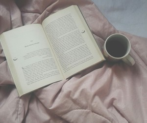 books, coffee, and grunge image