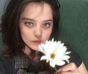 sky ferreira, grunge, and flowers image