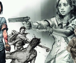 art and the last of us image