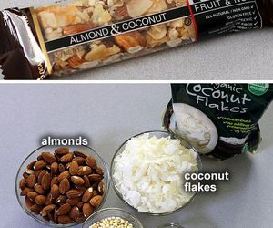healthy, almond, and diy image